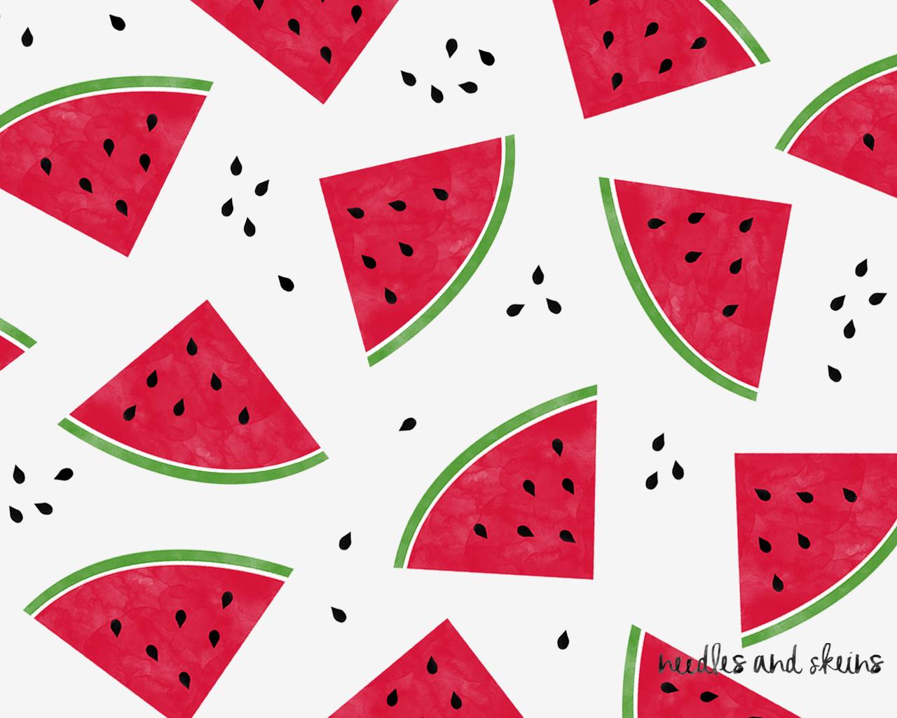 watermelon for smartphone white