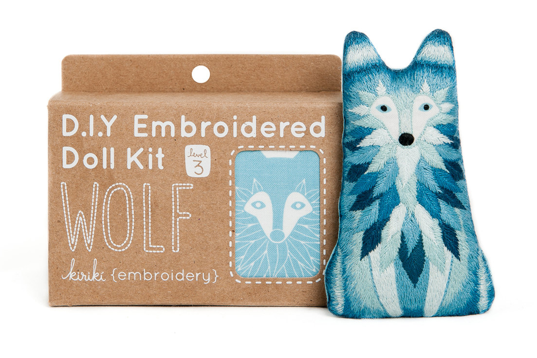 love at first sight: embroidery kits