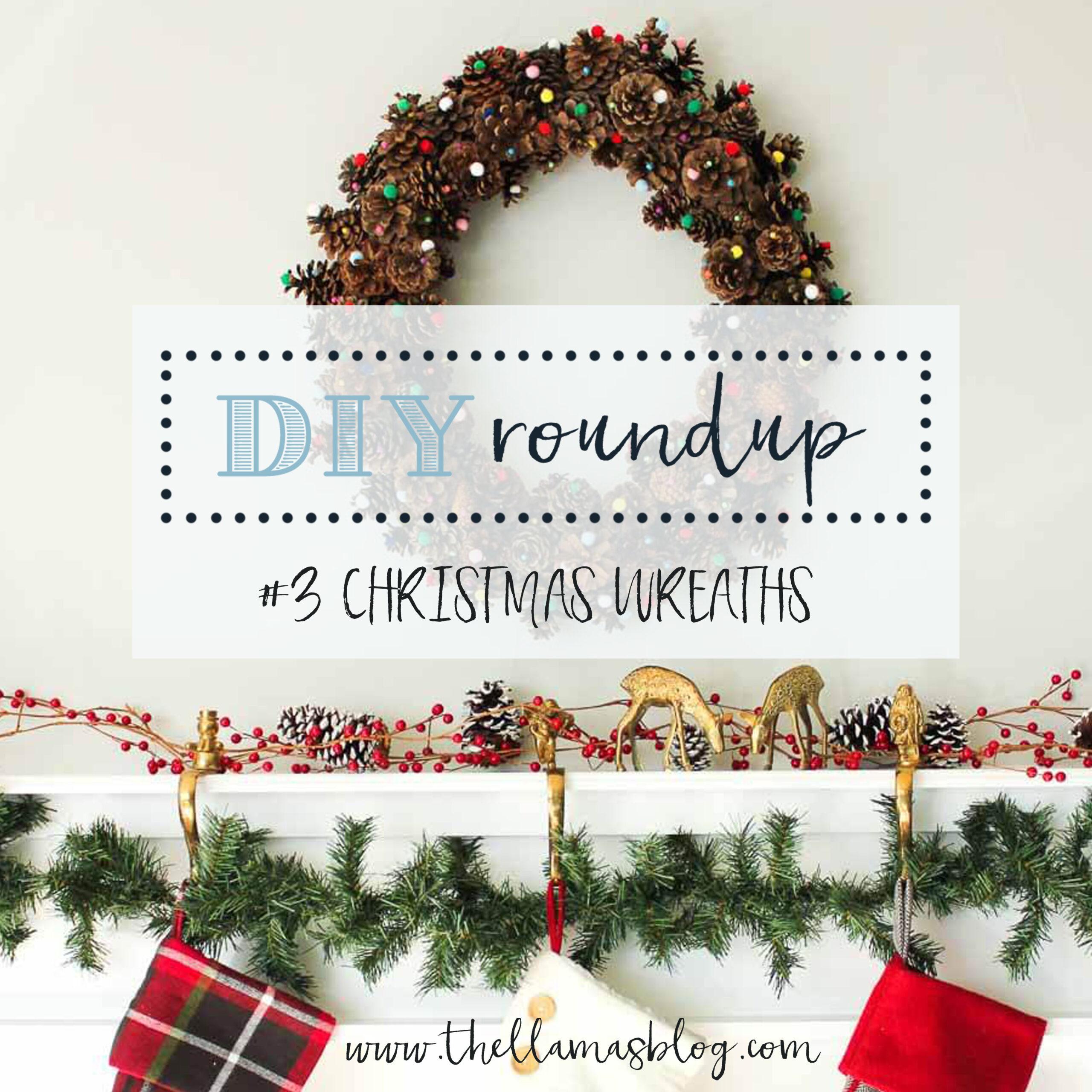 diy roundup six wreaths to make for christmas