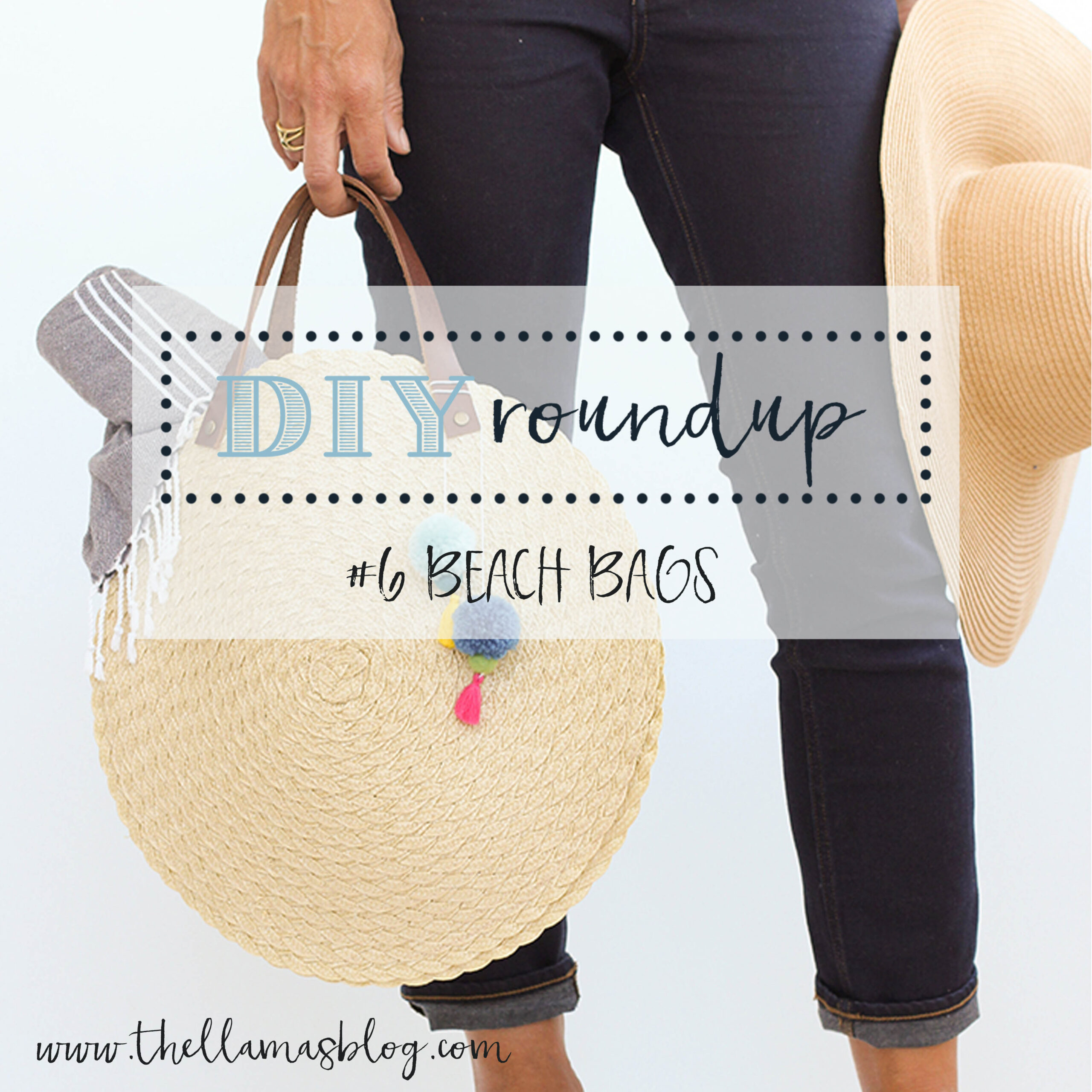 DIY roundup beach bags