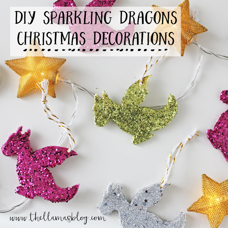 thellamas_DIY_sparkling_dragon_decorations_intro_the_llamas_blog