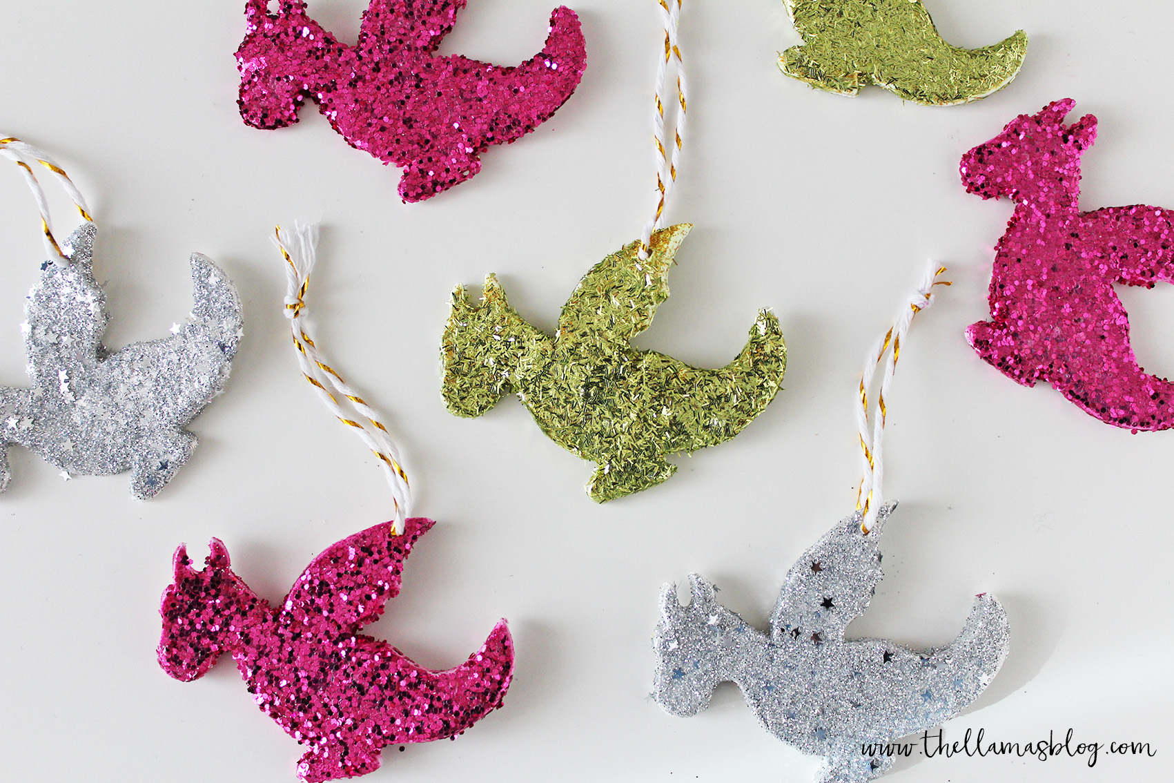 thellamas_DIY_sparkling_dragon_decorations_onwhite_the_llamas_blog