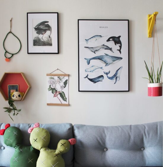 poster_store_gallery_wall_the_llamas_anteprima